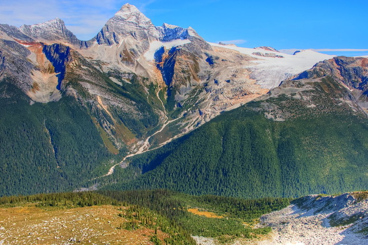Abbot Ridge, British Columbia, Glaciers National Park, Canada