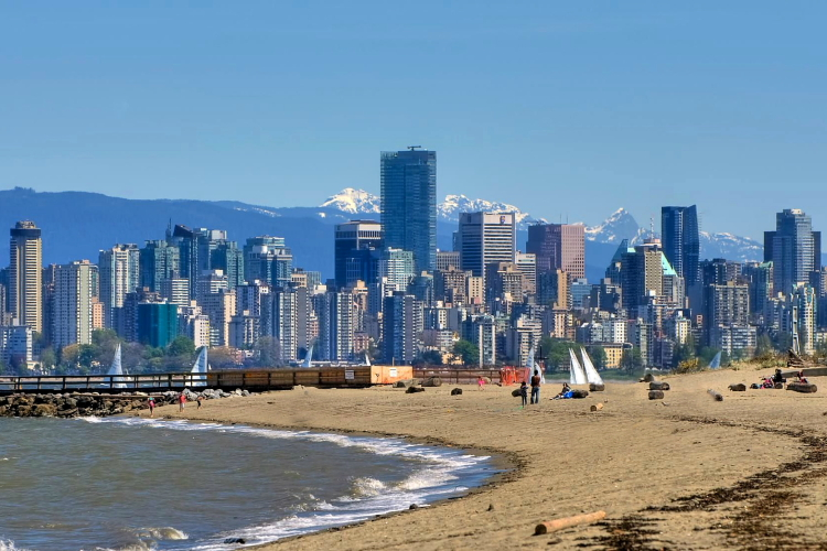 Spanish Banks, Vancouver, Canada, British Columbia